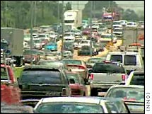 A series of record high gas prices won't stop an increase in driving by Americans over the Memorial Day holiday weekend, according to AAA.