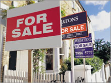 The forecast for the pace and price of home sales was cut further by the National Association of Realtors on Wednesday.