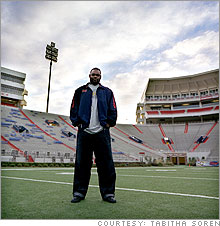 Ole Miss star left tackle Michael Oher, along with other juniors in college football, have to decide whether to end their college career well before they'll know where they'll be taken in the NFL draft.