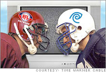 The clash between the NFL Network and cable companies like Time Warner Cable has produced only losers so far.