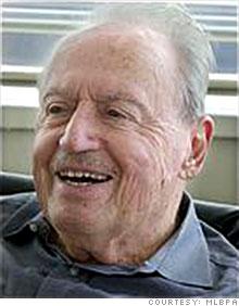 Former Player's Association boss Marvin Miller.