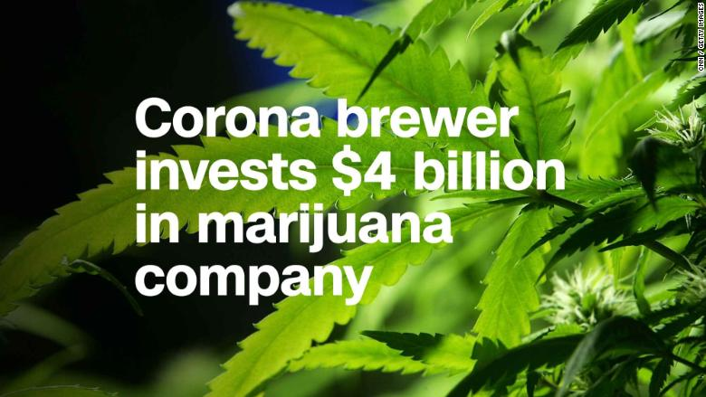 constellation brands invests marijuana grower thumb