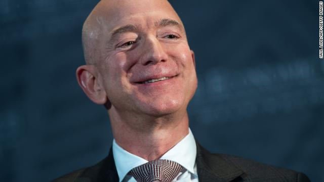 jeff bezos smiles economic club sept 13