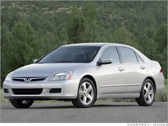 best cars 2007 consumer reports honda accord 3. Black Bedroom Furniture Sets. Home Design Ideas