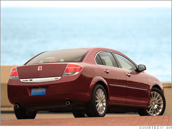 Saturn Aura Green Line: Less cost, but less value
