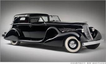 Pebble Beach Top 10 Classic Car Sales 1935 Duesenberg