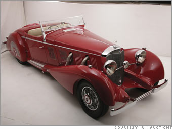 1937 Mercedes-Benz 540K Special