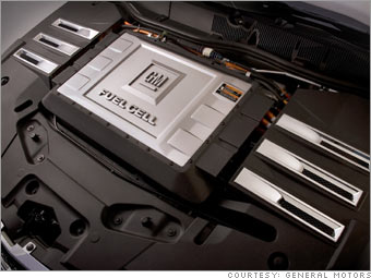 GM tests fuel cell cars in real world - Fuel cell stack (2
