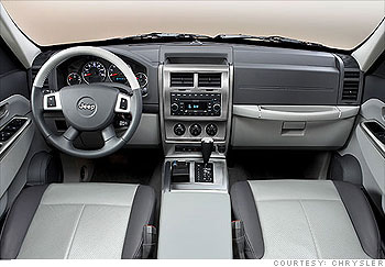 New Jeep Liberty Weirdly Appealing Interior Highs And