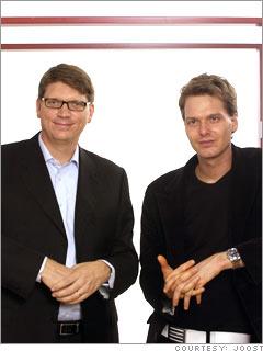 Janus Friis and Niklas Zennstrom