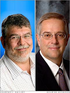 Ed Iacobucci and Vern Raburn