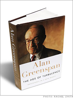 <br>The Age of Turbulence<br>by Alan Greenspan (2007)