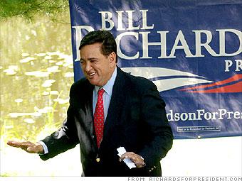 Bill Richardson's plan
