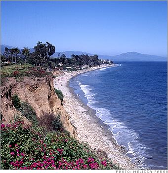 10 Great American Beaches Butterfly Beach 3 Cnnmoney Com