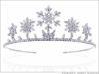 Harry Winston Diamond de Neige tiara