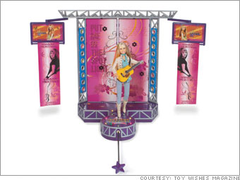 Hannah Montana Singing Doll and Pop Star Stage