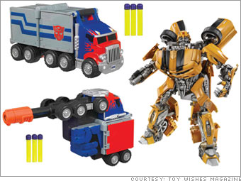 Transformers Arm Blasters & Movie Ultimate Bumblebee