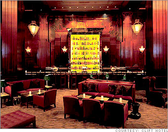 Redwood Room at the Clift Hotel in San Francisco