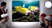 A submarine from Santa