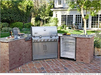 5 Killer Outdoor Kitchens Weber Grill 4 Cnnmoney Com