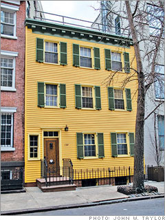 Bold Federal rowhouse
