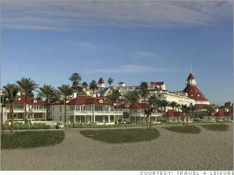 Beach Village at the Hotel del Coronado<br><br> Coronado, California