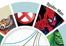 Six degrees of Spider-Man