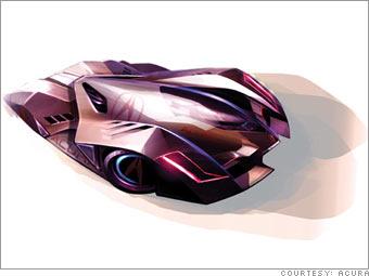 Acura FCX 2020 Le Mans