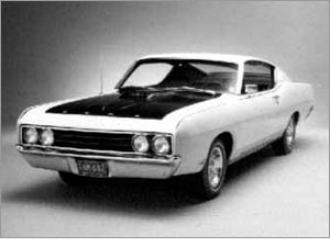1969 Ford Torino-Talladega hardtop