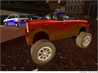 Scion xB Monster Truck