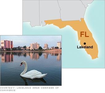 4. Lakeland, FL