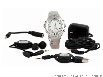 Wrist watch voice recorder and media player