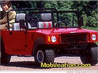 Junior Off Roader Gasoline Ed Vehicle For Two