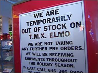 Has anyone seen Elmo?
