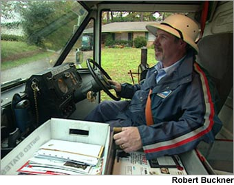 Robert Buckner, Letter carrier
