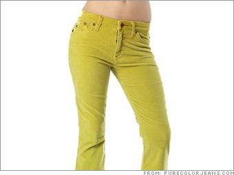 Pure Color Jeans