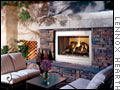 Four spectacular outdoor fireplaces