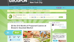 Half-off deals pay big for Groupon