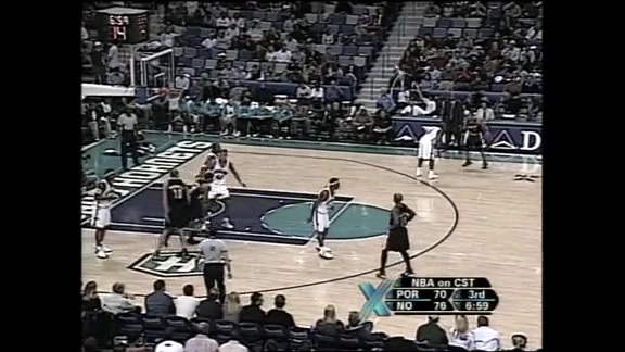#TBT: Damon Stoudamire Sets A Blazers Record With 54 Points Against New Orleans