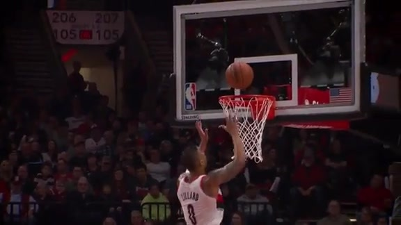 Damian Lillard Scores 26 En Route To Win Over Pacers
