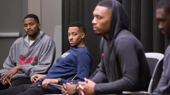 Trail Blazers Mentor Young Men in the Community