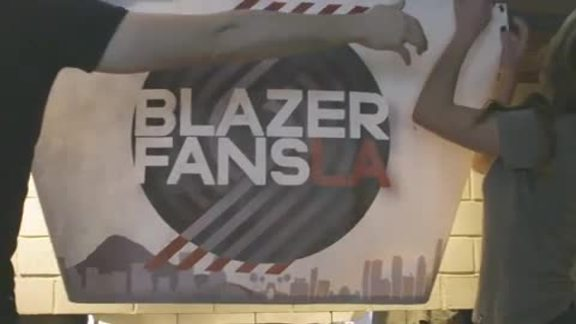 Blazers Fans LA All-Star Watch Party