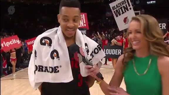 McCollum: 'All The Little Things We Did Tonight Helped Us Get This Victory'