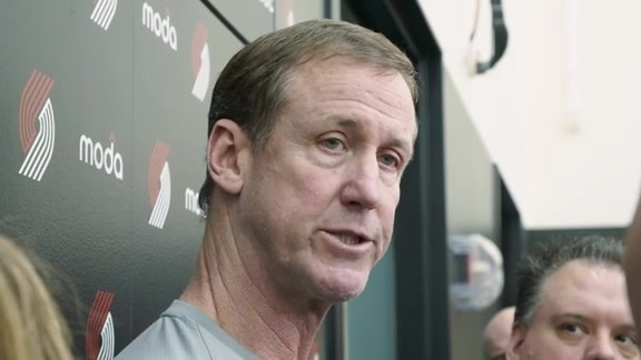 Stotts: '[Damian] Is Very In Control of What He Wants To Do'