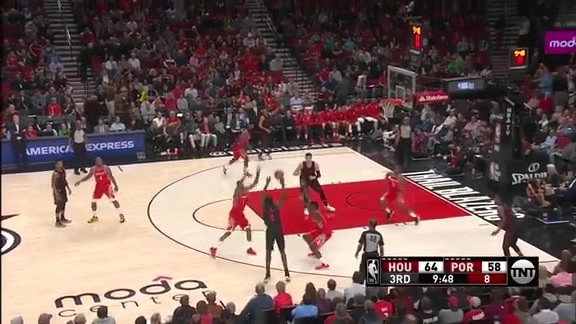 Al-Farouq Aminu (22 points, 6-8 3PT) vs. Houston Rockets