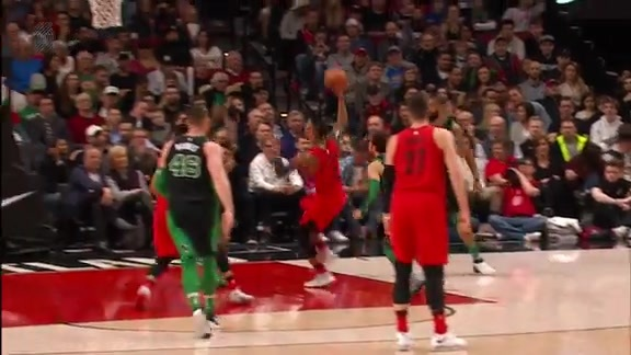 Highlights: Portland 100, Boston 105