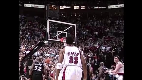 Throwback: Scottie Pippen Hits Go-Ahead Three to Win Game 5 vs. Jazz