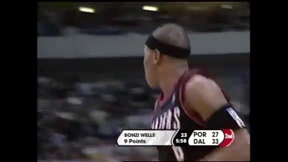 Throwback: Bonzi Wells Sets A Record With 45 Points in the Playoffs