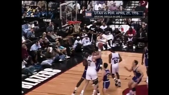 Throwback: Blazers Beat Jazz In OT In Game 3 Off Buck Williams Putback