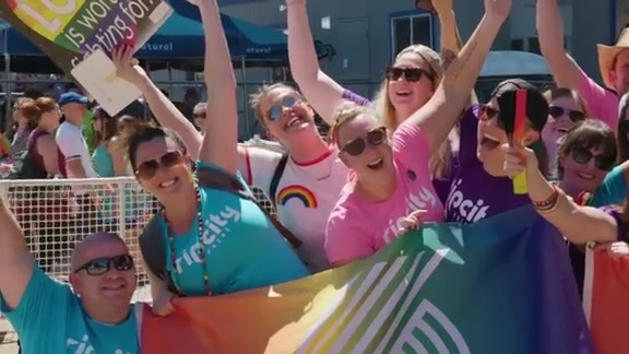 Rip City At the 2018 Portland Pride Parade